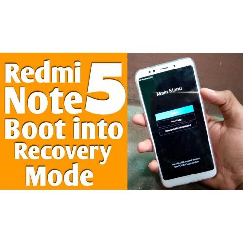 Hướng dẫn tự khắc phục Xiaomi Redmi Note 5, 5 Pro bị brick