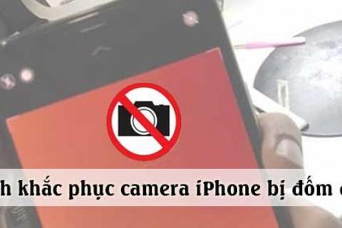 CẢNH BÁO: Camera Iphone Bị Đốm Đen Lỗi Ít Gặp Và Rất Khó Sửa