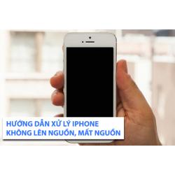 Xử lý lỗi điện thoại iPhone bật không lên màn hình