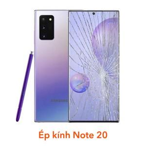 Thay, Ép kính Samsung Note 20