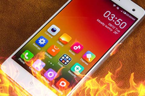 Điện thoại Xiaomi bị nóng máy. Cách khắc phục và  làm mát điện thoại