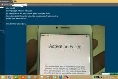Cách kiểm tra iPhone reset không thể active.