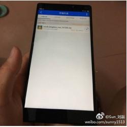 Lộ hình ảnh mặt trước Xiaomi Mi6