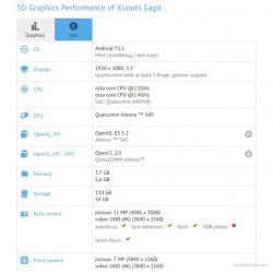 Xiaomi Mi 6 lộ cấu hình chính thức thông qua GFXBench