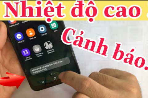 Tại Sao Điện Thoại Samsung Bị Nóng Máy Và Cách Khắc Phục