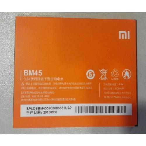 Thay pin Xiaomi Note 2
