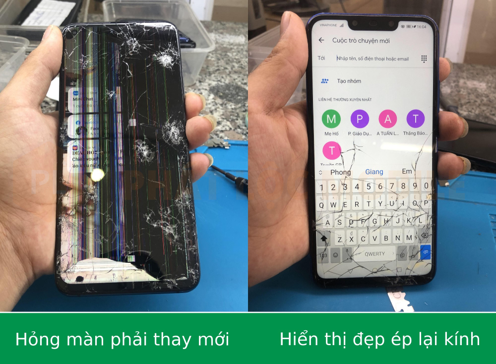 Dịch vụ thay, ép kính Xiaomi tại Phát Lộc Mobile